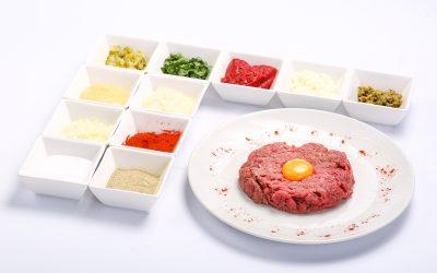 Biftek tartar  BIFTEK TARTAR Biftek tartar 400x250