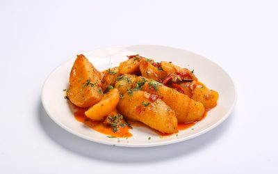 PEASANT'S POTATOES  PEASANT'S POTATOES Cartofi taranesti 400x250