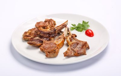 BARBECUED MUTTON CHOPS  BARBECUED MUTTON CHOPS Cotlete de berbecut 1 400x250
