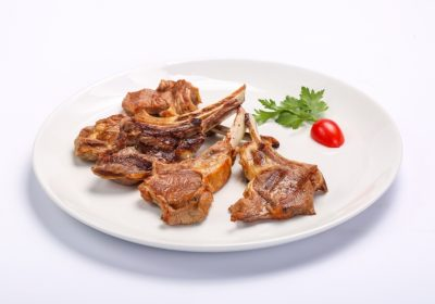 BARBECUED MUTTON CHOPS  BARBECUED MUTTON CHOPS Cotlete de berbecut 1 400x280