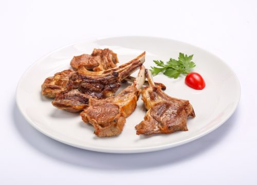 BARBECUED MUTTON CHOPS  BARBECUED MUTTON CHOPS Cotlete de berbecut 1 500x360