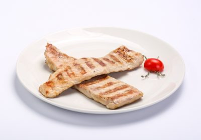 BARBECUED WHITE FILLET  BARBECUED WHITE FILLET Muschi alb la gratar 1 400x280