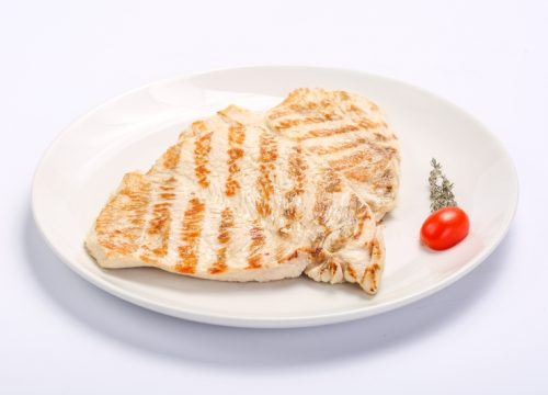 BARBECUED TURKEY BREAST  BARBECUED TURKEY BREAST Piept de curcan la gratar 1 500x360