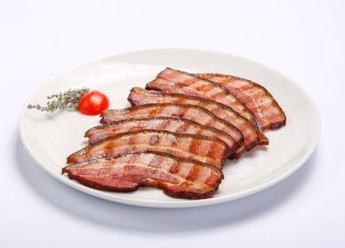 Barbecued bacon  Barbecued bacon kaizer la gratar 500x360