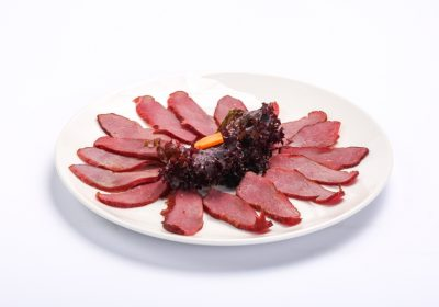 Smoked beef entrecote  Smoked beef entrecote Antricot de vita 1 400x280