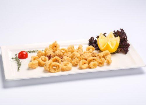 Breaded deep-fried calamari  Breaded deep-fried calamari Calamar pane 500x360