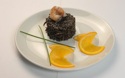 Black-risotto-with-shrimp-and-calamar  Black risotto with shrimp and calamar Risotto negru cu creveti si calamar 400x250
