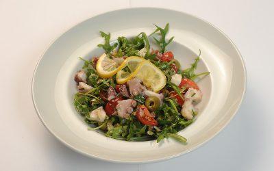Octopus-salad  Octopus salad Salata de caracatita 400x250