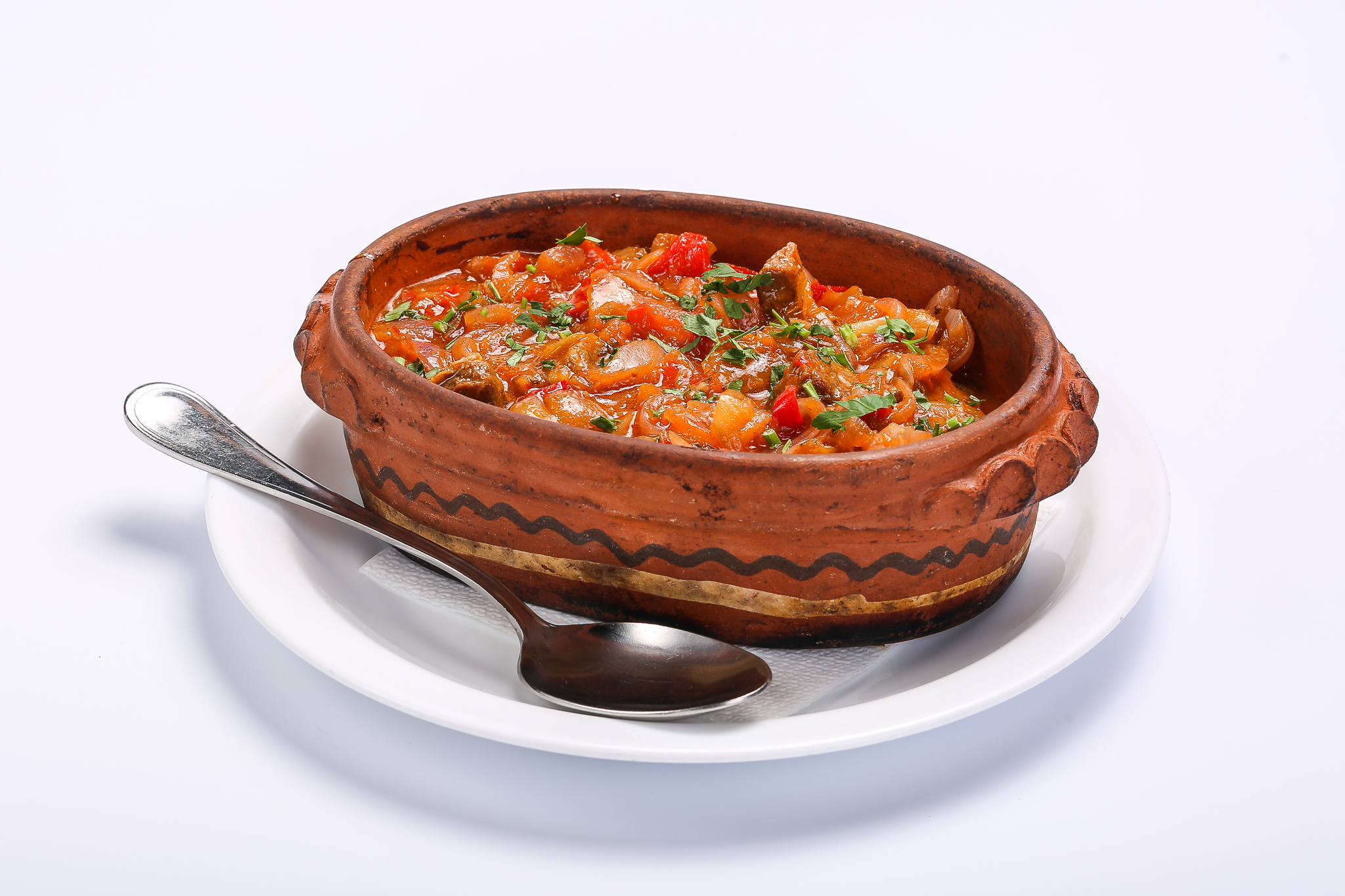CHICKEN WITH VEGETABLE SAUCE BEEF WITH VEGETABLE SAUCE Carne de vita in sos de legume 1