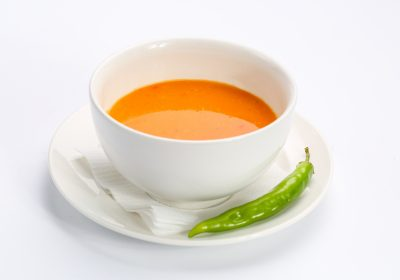 Vegetable cream soup  VEGETABLE CREAM SOUP Crema legume 400x280