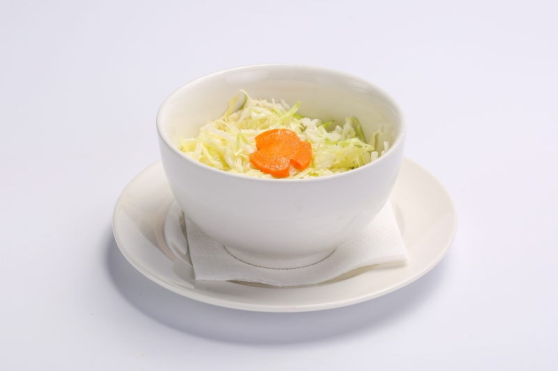 WHITE CABBAGE SALAD WHITE CABBAGE SALAD Salata de varza alba 1