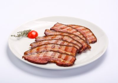 Barbecued bacon  Barbecued bacon kaizer la gratar 400x280