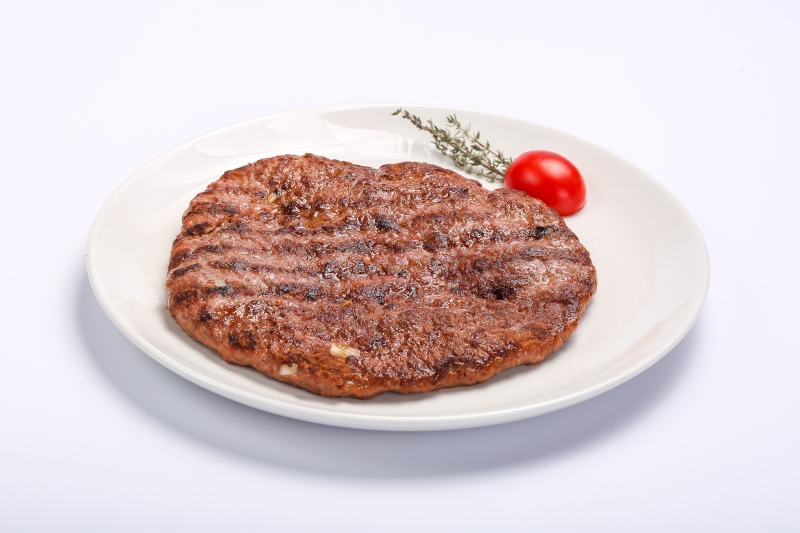 BARBECUED SPICY MINCED MEAT (PLESCAVITA) BARBECUED SPICY MINCED MEAT (PLESCAVITA) Carne tocata plescavita
