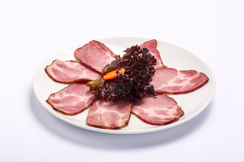 Smoked pork neck  Smoked pork neck Ceafa afumata
