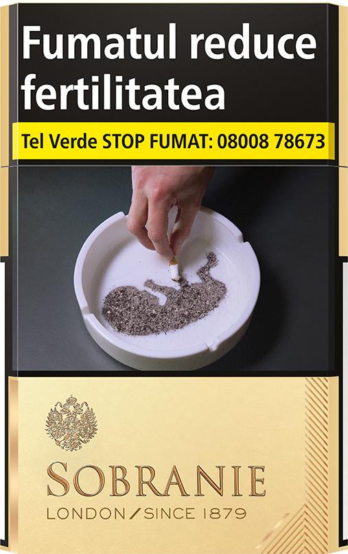 Tigări Sobranie KS gold sm